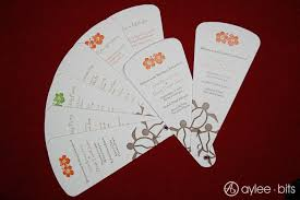 Diy Wedding Fans Templates Diy Fan Programs Aylee Bits