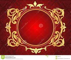 red and gold design dzqxh com