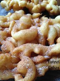 funnel cakes turnips 2 tangerines