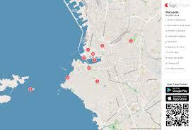 marseilles map marseille printable tourist map sygic travel