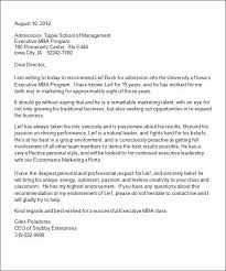 recommendation letter template word