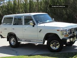 1990 toyota land cruiser information and photos zombiedrive
