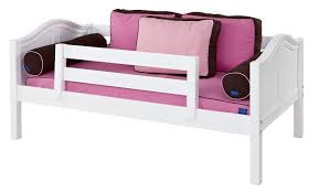 Bunk Bed Safety Rails Maxtrix Yeah Daybed With Back And Front Safety Rails Twin Size