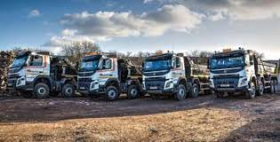 volvo group mcauliffe group opts for volvo tippers commercial motor