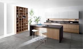 Kitchen Design Minimalist by Minimalist Kitchen Designs With White Wall And Wooden Furnitures