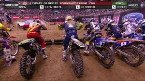motocross races x games la 2013 women u0027s moto x racing final