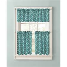 Kitchen Valance Curtains by Kitchen Small Door Window Curtains Black And Turquoise Curtains