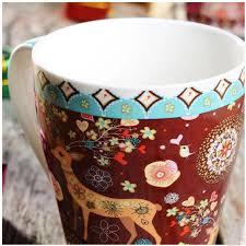 coffee mug ideas top grade personalized ceramic christmas mugs 450ml christmas cup
