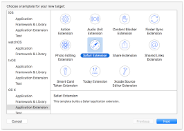 safari app extension programming guide creating and running your