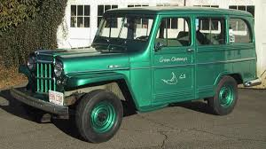 willys jeep truck green 1960 willys four wheel drive station wagon your great