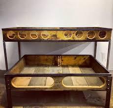 handmade wine rack table michaelgrahamdesigns dtla losangeles