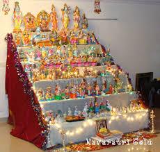 decoration for puja at home 9 nights or navarathri kolu the dolls show travel blog