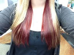 what are underneath layer in haircust hairstyles with blond on top red underneath everlasting