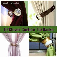 Tie Backs Curtains New Metal Curtain Tie Back Hooks 2018 Curtain Ideas