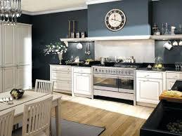 cuisine mur bleu cuisine blanche mur bleu canard deco cuisine provincial