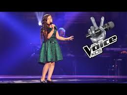 Voice Kids Blind Auditions Anna U2013 It U0027s A Man U0027s Man U0027s Man U0027s World The Voice Kids 2017 The