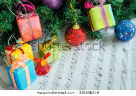 Music Christmas Tree Decorations by Music Notes Christmas Tree Stock Images Royalty Free Images