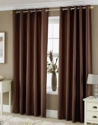 Curtains For Brown Living Room Naturally Warm Brown Living Room Curtains Abpho