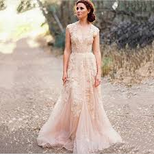 non traditional wedding dresses with sleeves sale vintage lace a line wedding dresses custom cap sleeves
