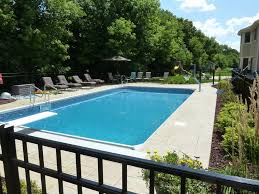 Backyard Landscaping With Pool by Inground Pool Landscaping Ideas Completed Inground Swimming