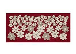 tappeto disegno tappeto da cucina con retro antiscivolo disegno margherite by