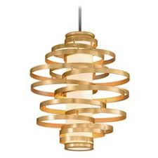 vertigo spiral bronze and gold leaf modern pendant chandelier lighting modern living room modern pendant light in bronze gold leaf finish 113 43 f