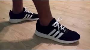 adidas cloudfoam lite racer adidas neo lite racer unboxing and on feet review youtube