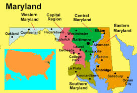 maryland map capital hotels in maryland usa