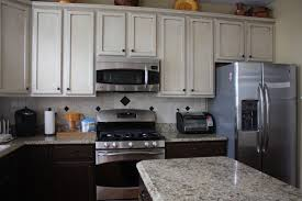 blue grey painted kitchen cabinets with country kitchen ideas