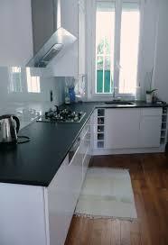 plan de travail cuisine blanc laqué exceptionnel modele cuisine blanc laqué modele de plan de travail