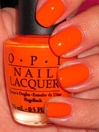 Pretty Orange Tangerine Scene By Opi A Little More Orange Than Pantone U0027s Pick