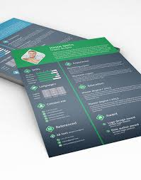 free 3 color flat resume template u0026 cover letter for graphic