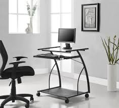 Small Rolling Computer Desk Furniture Mobile Laptop Stand Small Home Desk Adjustable Height