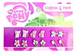 my pony earrings my pony mane 6 pack earrings brony t shirts and