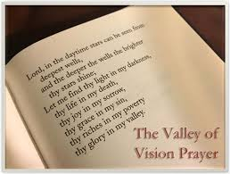 valley of vision puritan prayers facing ocd and prayer fichter