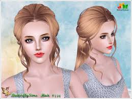 the sims 4 cc hair ponytail hairstyle116 hairstyles b fly provide personalized hairstyle