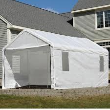 Door Canopy Kits B Q by 10x20 Max Ap 3 In 1 Canopy Enclosure Kit Shelterlogic 25772