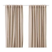 Ikea Beige Curtains Aina Curtains 1 Pair Ikea