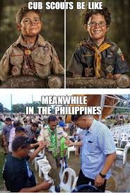 Boy Scout Memes - viral netizens react on vp binay in boy scout uniform photo when