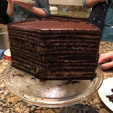 24 layer chocolate cake u2013 the specially baked