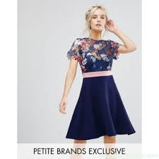 dresses for weddings paper dolls petite floral printed lace top