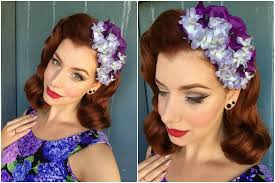 hair flowers shazam pin up hair flowers miss victory violet