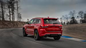 trackhawk jeep black 2018 jeep grand cherokee trackhawk has 707 hp of purring hellcat