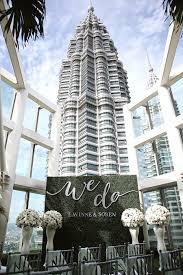 Petronas Towers Floor Plan by The Wedding Scoop