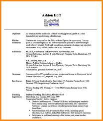 Mission Statement For Resume 8 Teacher Resume Experience Nurse Resumed