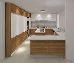 New Design Of Kitchen Cabinet Foshan High Gloss Plywood Wholesale Kitchen Cabinet