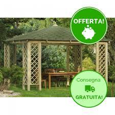 gazebo da giardino in legno prezzi gazebo in legno da giardino occasioni onlywood