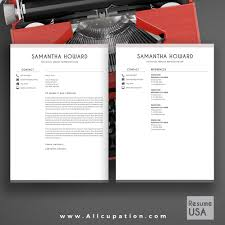 Word For Mac Resume Template Creative Resume Template Modern Cv Template Word Cover Letter