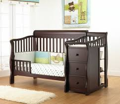 Toddler Changing Table Sorelle Tuscany 4 In 1 Convertible Fixed Side Crib And Changing