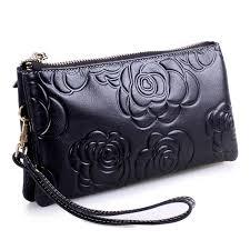 Cowhide Leather Purses Yafeige Women U0027s Soft Cowhide Leather Purse Organizer Genuine